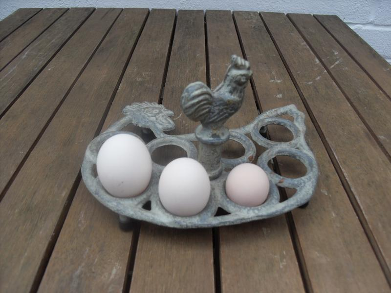 The first three egg day of the year